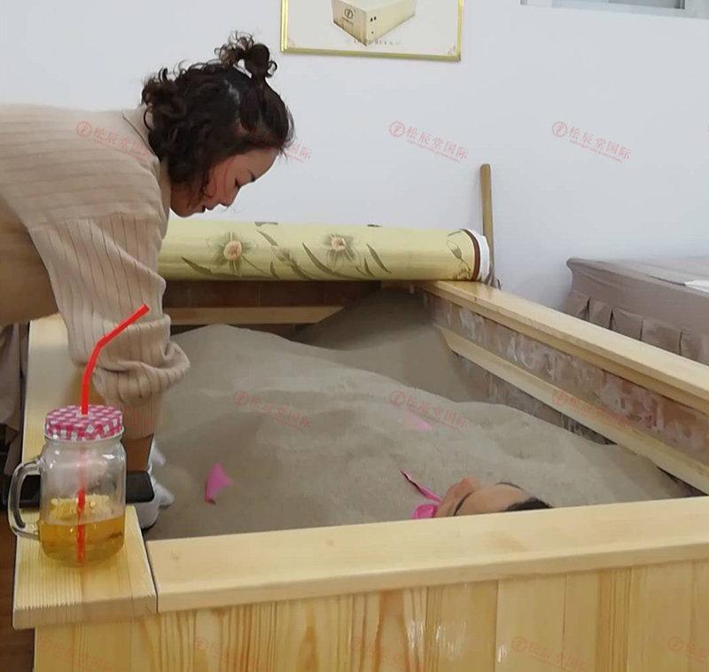 做松辰堂国际女性沙灸的好处:皮肤好、身材好、精神状态好、焕发年轻态