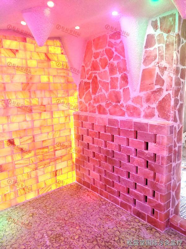 松辰堂国际带您了解美容院安装盐疗房的好处,盐疗房对美容院的好处