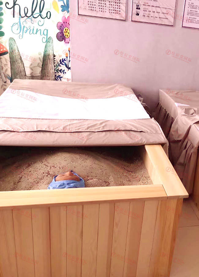 松辰堂国际带您了解沙疗床的好处