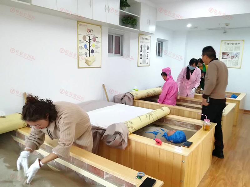 松辰堂国际带您了解夏季沙疗的好处