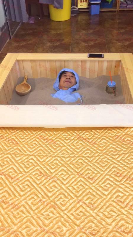 松辰堂国际带您了解沙疗改善肾脏排毒